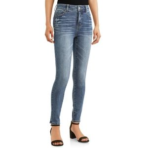 🍂3/$20 Time And Tru High Rise Skinny Jeans 10